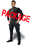 Fusion Bullet MK2 Drysuit Package