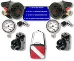 Sidemount Regulator Package