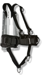 Harness with Weight Pockets and backplate