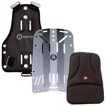 Backplates and Pads