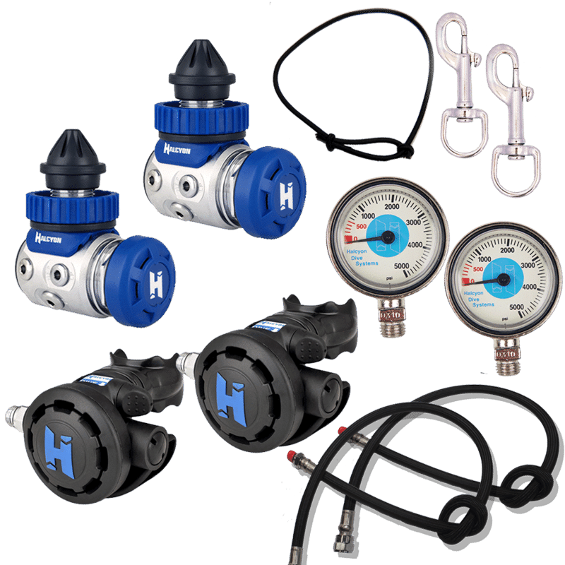Halcyon sidemount regulator package dive right in scuba - Halcyon dive gear ...
