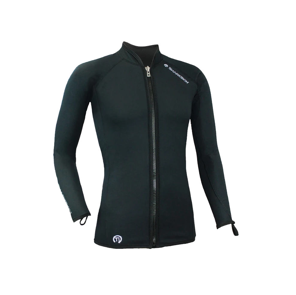 Size Chart for Titanium Chillproof Long Sleeve Full Zip Jacket